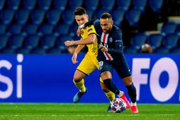 Frá leik PSG og Dortmund.