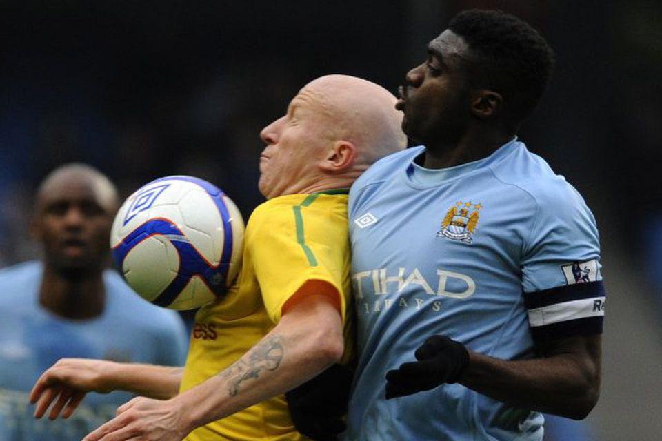 Kolo Touré er kominn til liðs við Liverpool frá Manchester City.