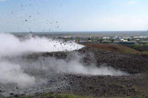 Hverasvæðið að Reykjum við Hveragerði