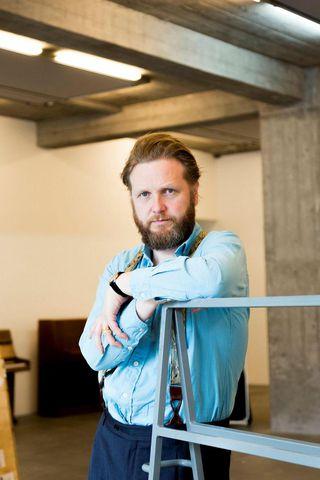 Ragnar Kjartansson í Hafnarhúsi.