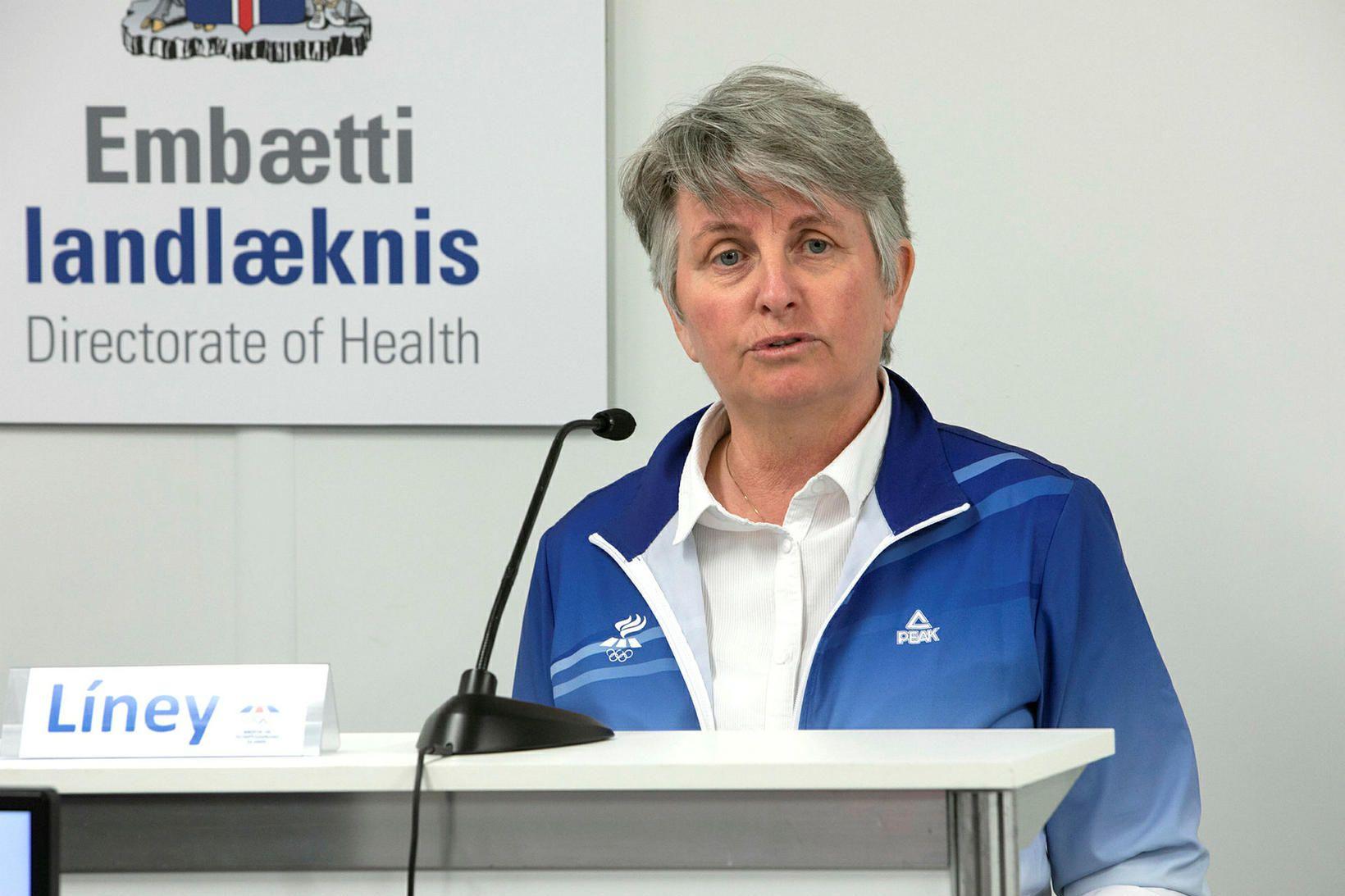 Líney Rut Halldórsdóttir framkvæmdastjóri ÍSÍ.