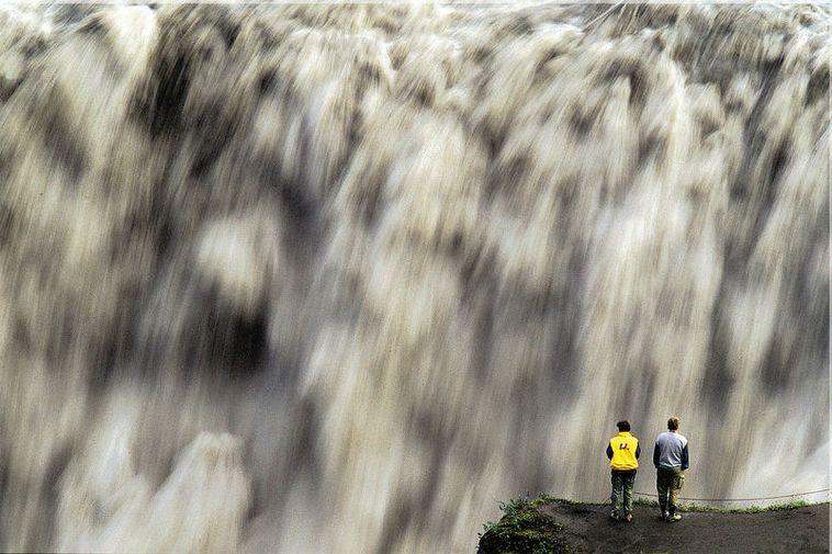 Dettifoss waterfall.