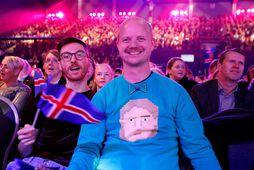 Flosi Jón Ófeigsson vill sjá Ísland vinna keppnina en er ánægður með Ástrala.