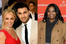Leikkonan Octavia Spencer hefur beðið nýtrúlofaða parið Britney Spears og Sam Asghari afsökunar á ummælum …