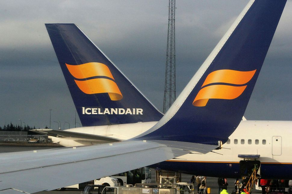 Farþegaþotan var á leið til Keflavíkur frá Seattle í Bandaríkjunum.