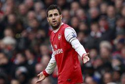 Cesc Fabregas í leik með Arsenal.