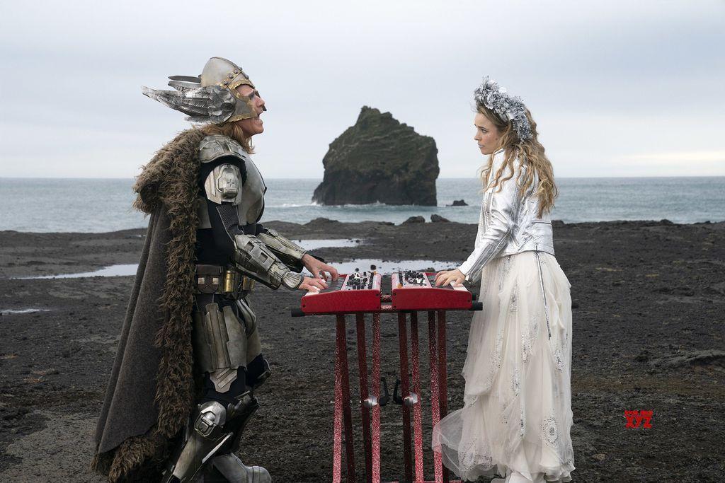 Kynning Myndband við lagið Volcano Man úr væntanlegri Eurovision-mynd vakti mikla athygli á dögunum.