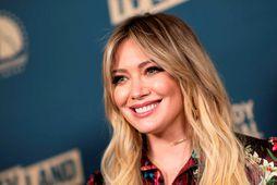 Hilary Duff hætti í venjulegum skóla átta ára.