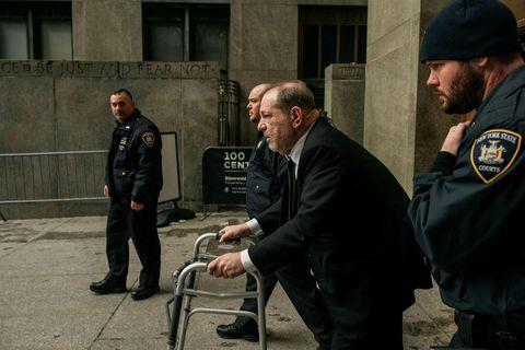 Réttarhöld hófust yfir Harvey Weinstein í upphafi árs, en hann gæti átt yfir höfði sér …
