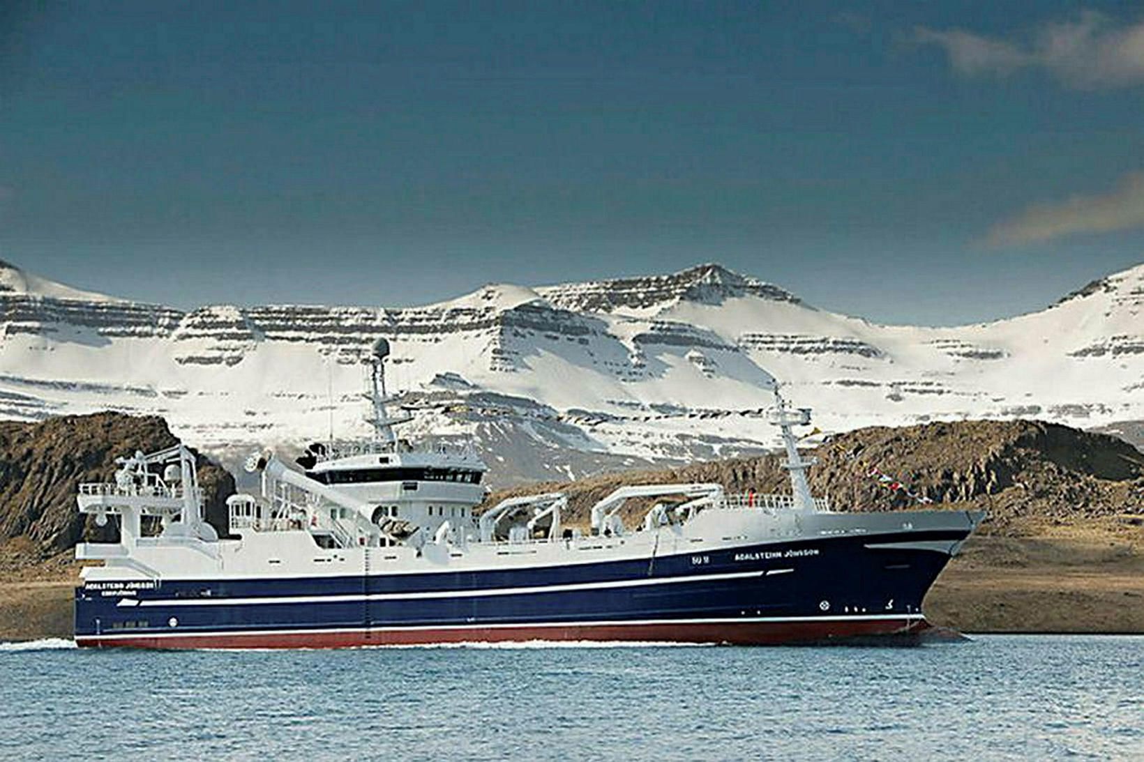Aðalsteinn Jónsson var farsælt og fengsælt skip meðan það var …