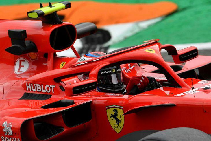 Kimi Räikkönen í Monza.