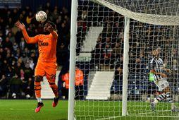 Danny Rose er að láni hjá Newcastle frá Tottenham.