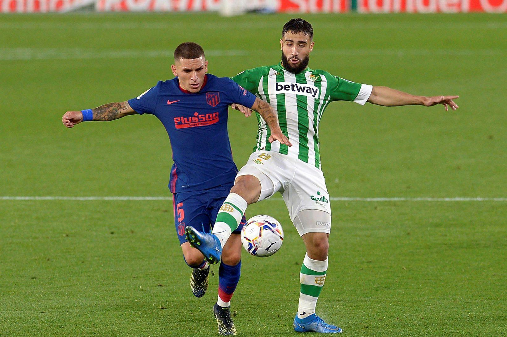 Real Betis og Atlético Madrid skildu jöfn í kvöld.