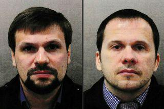 Ruslan Boshirov og Alexander Petrov. Eða Anatolí Chepiga og Alexander Mishkin.