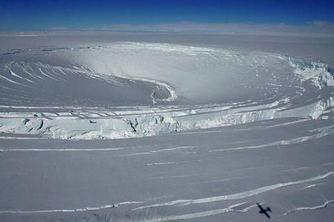 Skaftárjökull glacier.