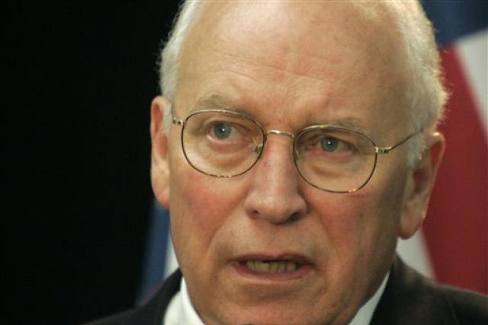 Dick Cheney, fyrrum varaforseti Bandaríkjanna, er lítt hrifinn af aðgerðum …