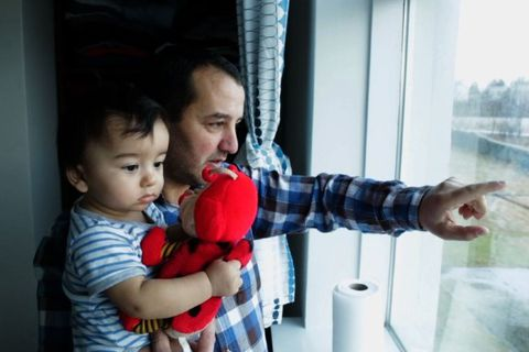 Video:AFP visits Syrian refugees settling in Iceland