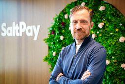 Reynir Grétarsson, forstjóri SaltPay.
