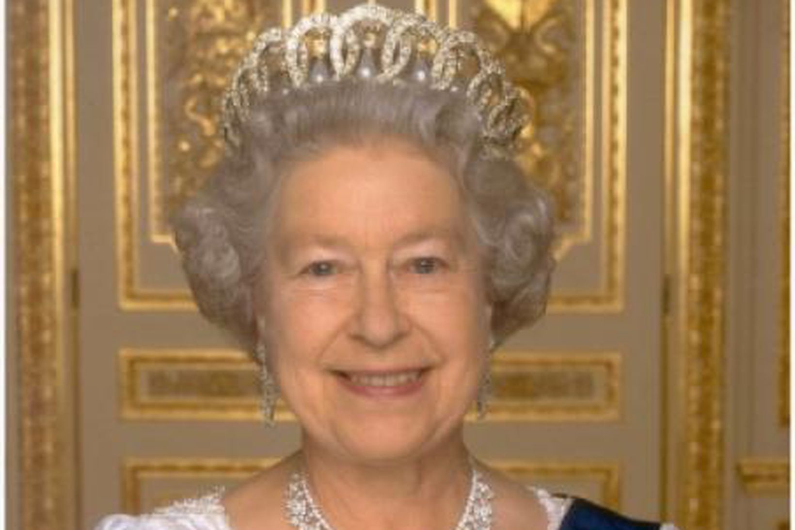 Elísabet II. Englandsdrottning.