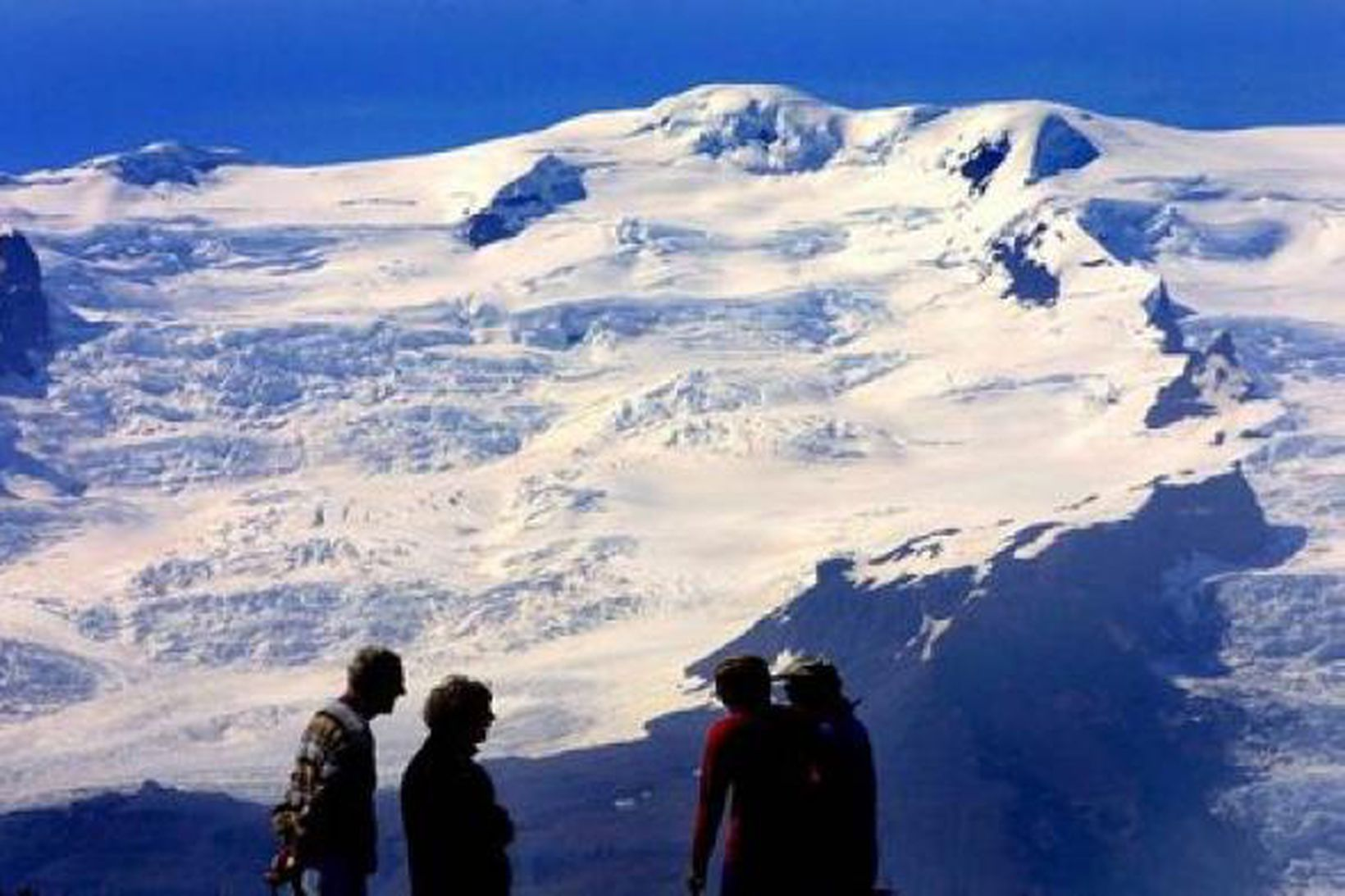 Vatnajökull hefur rýrnað um 7% frá 1890 en jökullinn á …