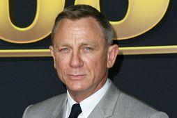 Daniel Craig eignaðist barn í fyrra.