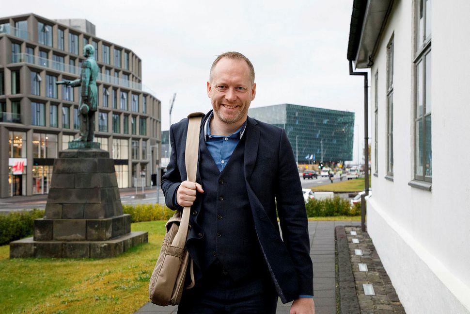 Guðmundur Ingi Guðbrandsson, nýr varaformaður Vinstri grænna.