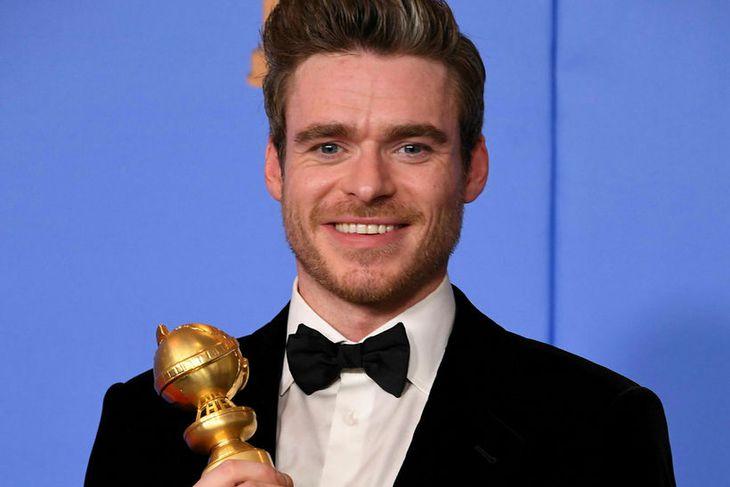 Richard Madden mætti einn á Golden Globe.