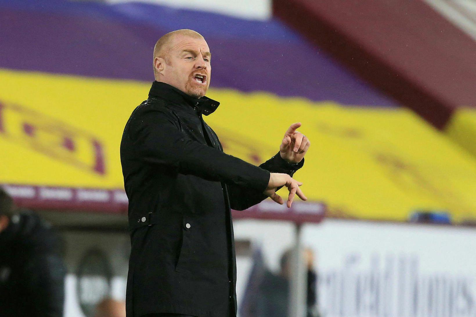 Sean Dyche hefur stýrt Burnley frá árinu 2012.
