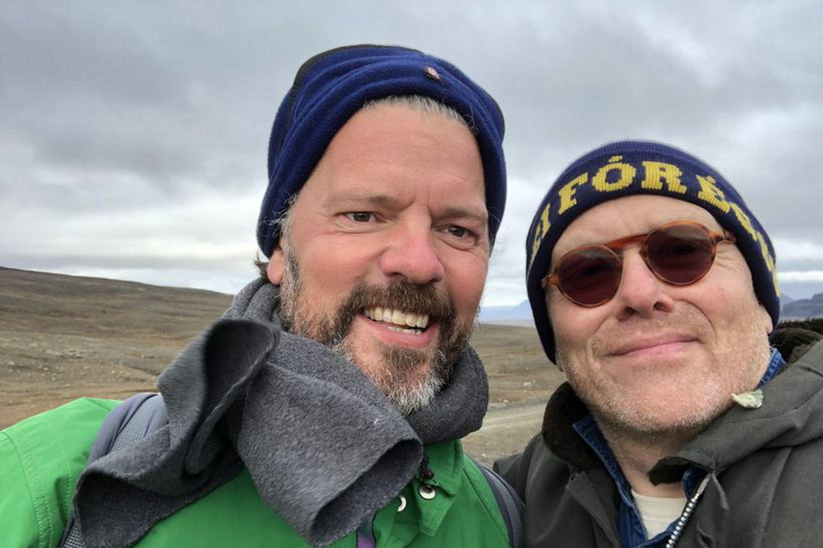 """""""Tveir úr Tungunum mættir á Ok! #notOk"""" tísti Jón Gnarr …"""