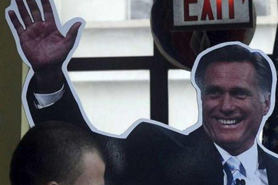 Mitt Romney úr pappa.
