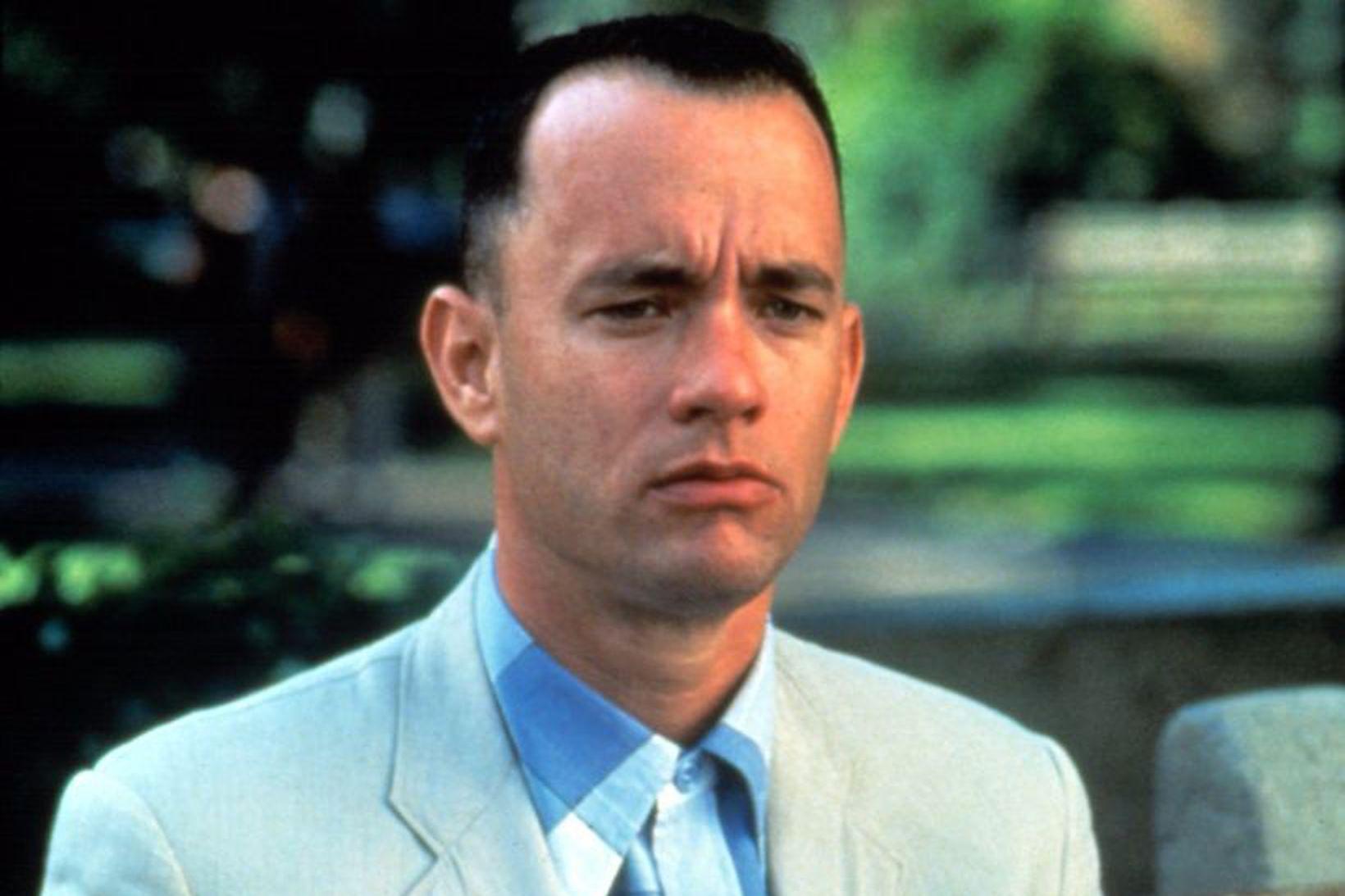 Tom Hanks fór með hlutverk Forrest Gump í samnefndri kvikmynd.