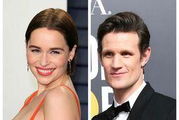 Emilia Clarke og Matt Smith hittust um síðustu helgi.