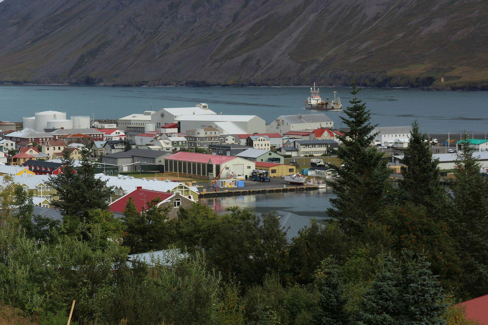 Siglufjörður í Fjallabyggð.