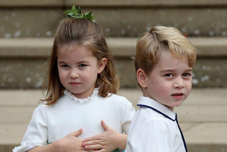 Karlotta prinsessa og Georg prins fá að skreyta sín eigin ...