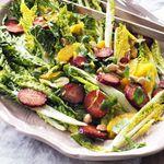 Sérlega danskt og lekkert salat sem engan svíkur
