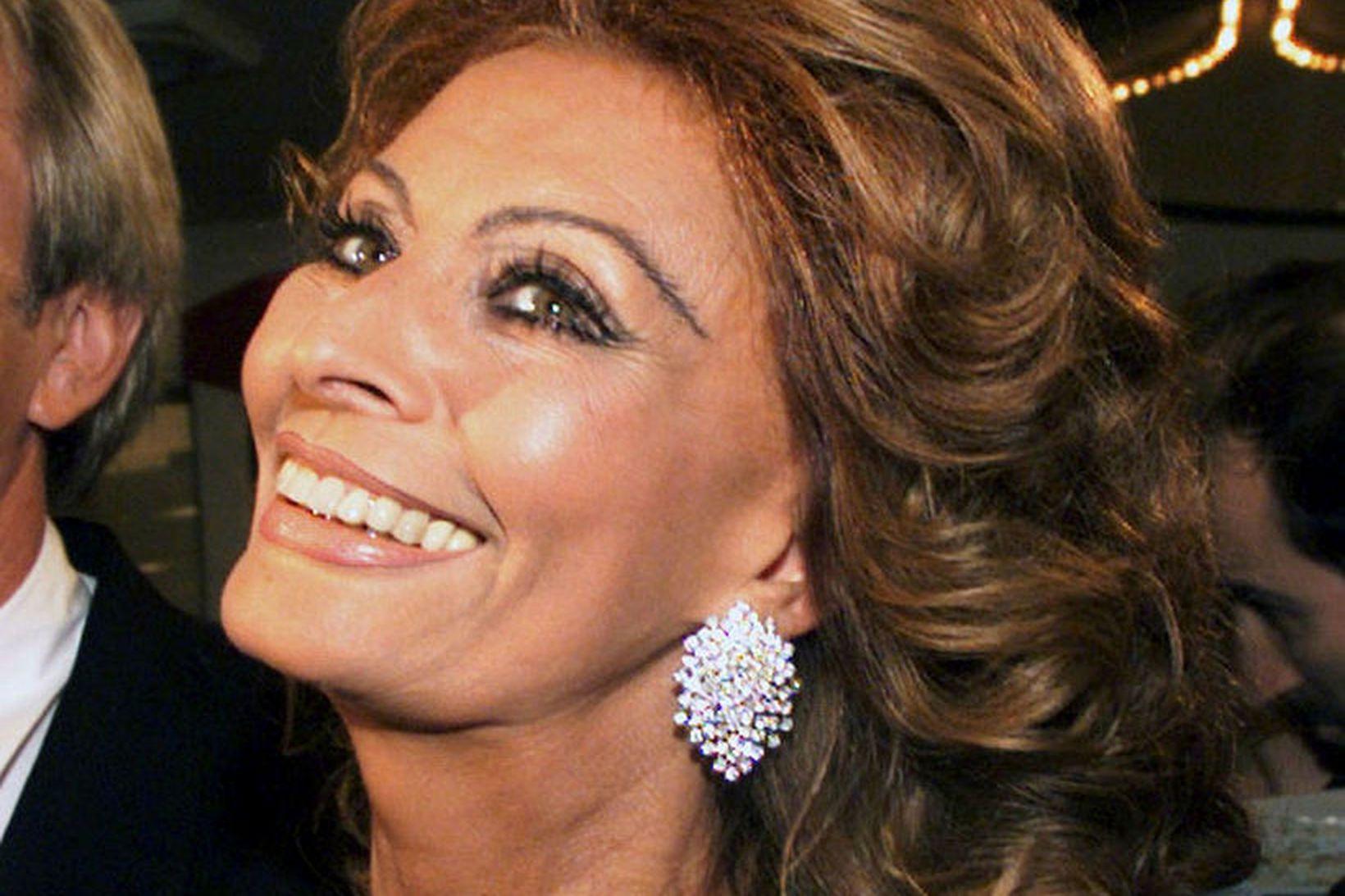 Sophia Loren er ítölsk og segir hlutina eins og þeir …