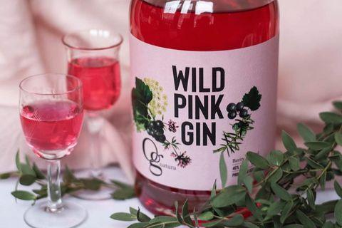 WILD PINK GIN er nýjasta afurð Og natura.