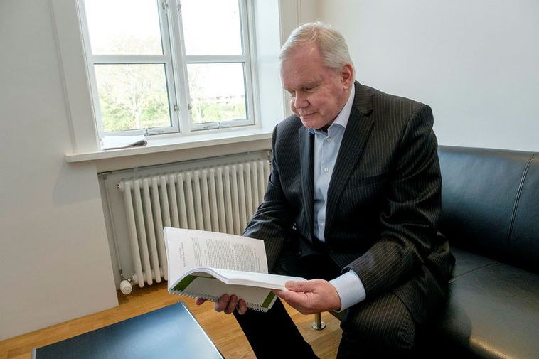 Hannes Hólmsteinn Gissurarson.