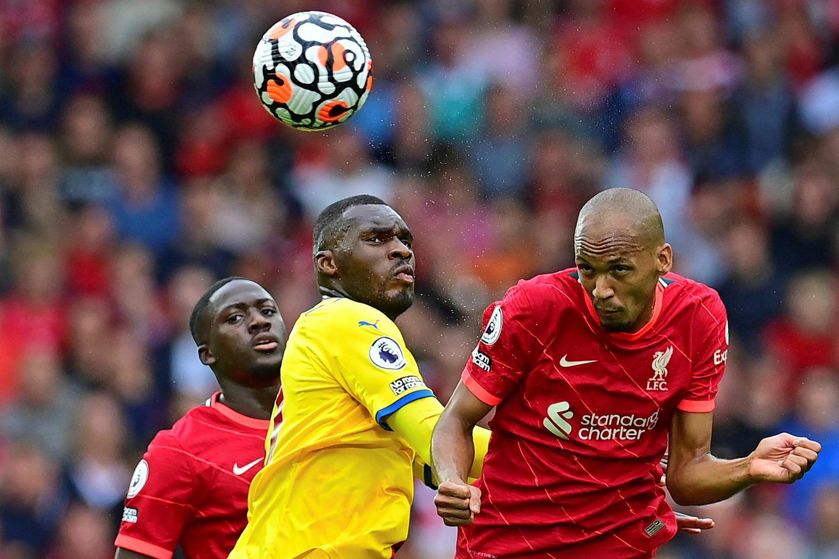 Fabinho, miðjumaður Liverpool, er á meðal þeirra Brasilíumanna sem hafa …