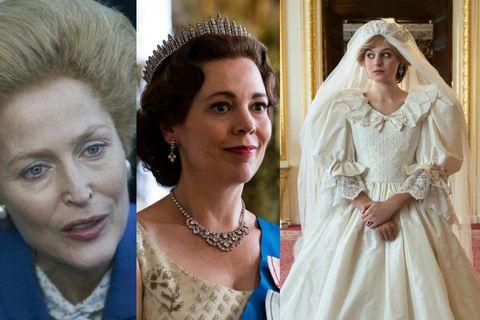 Gillian Anderson, Olivia Colman og Emma Corrin voru ekki tilnefndar til sjónvarpsverðlauna BAFTA fyrir hlutverk …