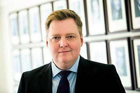Sigmundur Davíð Gunnlaugsson, former PM of Iceland.