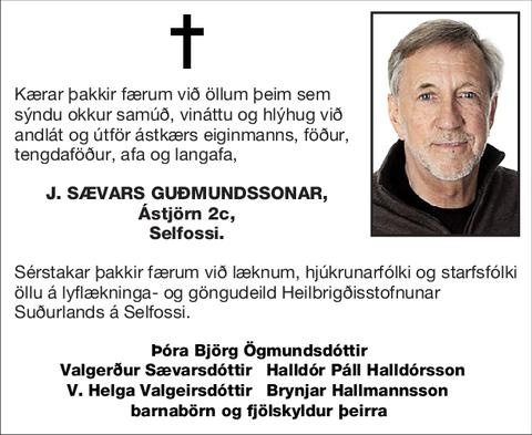 J. Sævars Guðmundssonar,