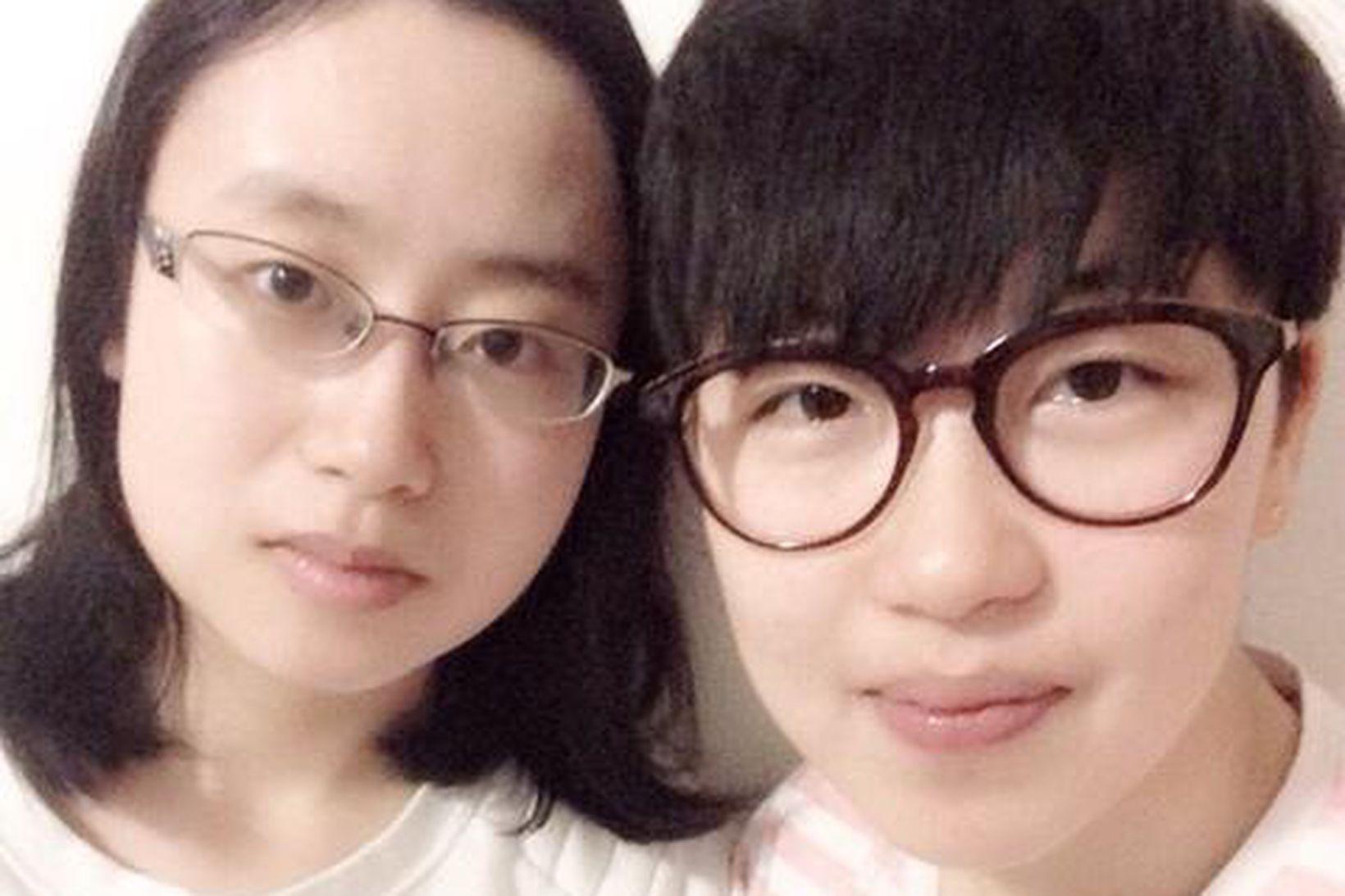 Yushan Chai og Jixin Yu.