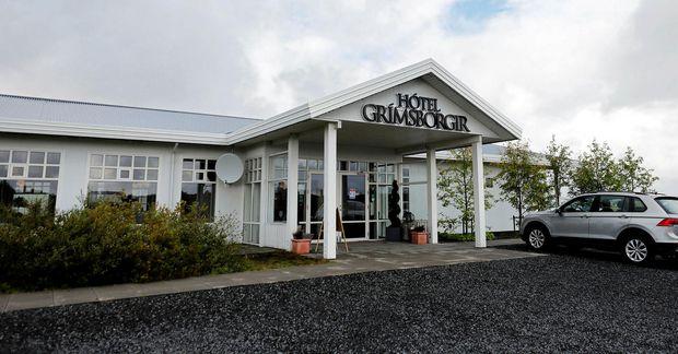 Hótel Grímsborgir í Grímsnesi.