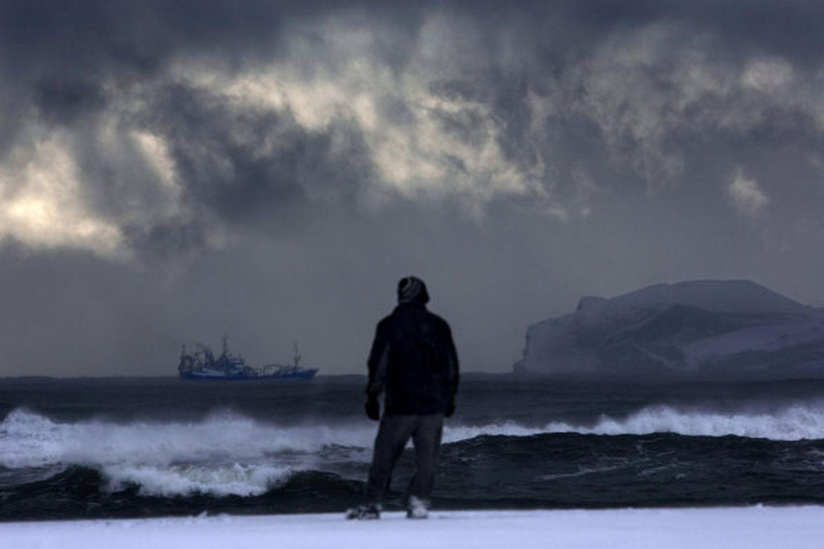 Vonskuveður verður á Suður- og Suðausturlandi í kvöld og nótt.