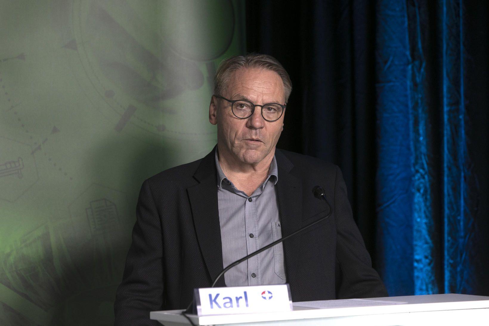 Karl G. Kristinsson, yfirlæknir á sýkla- og veirufræðideild Landspítalans.