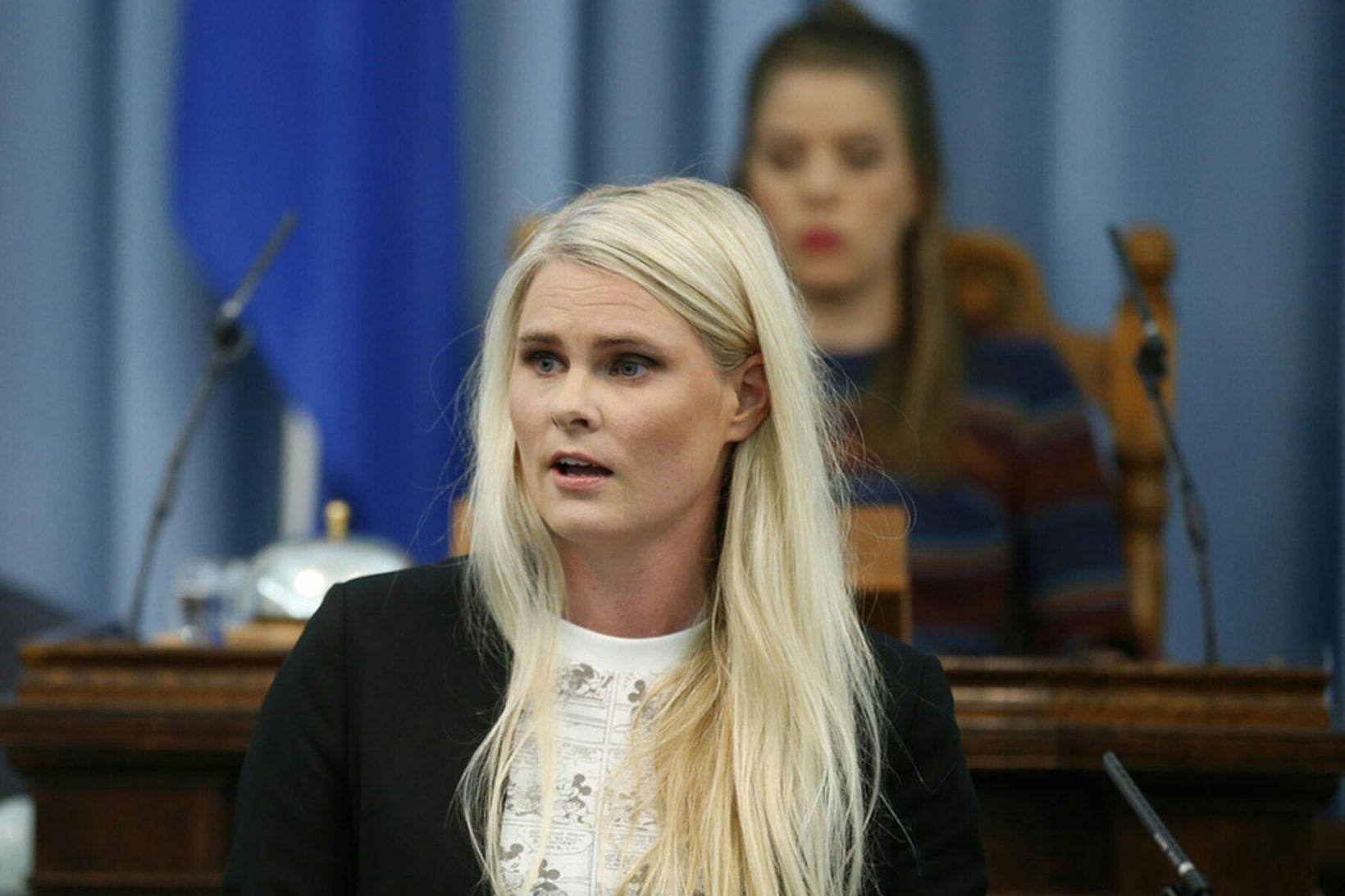 Hildur Sverrisdóttir, þingmaður Sjálfstæðisflokksins.