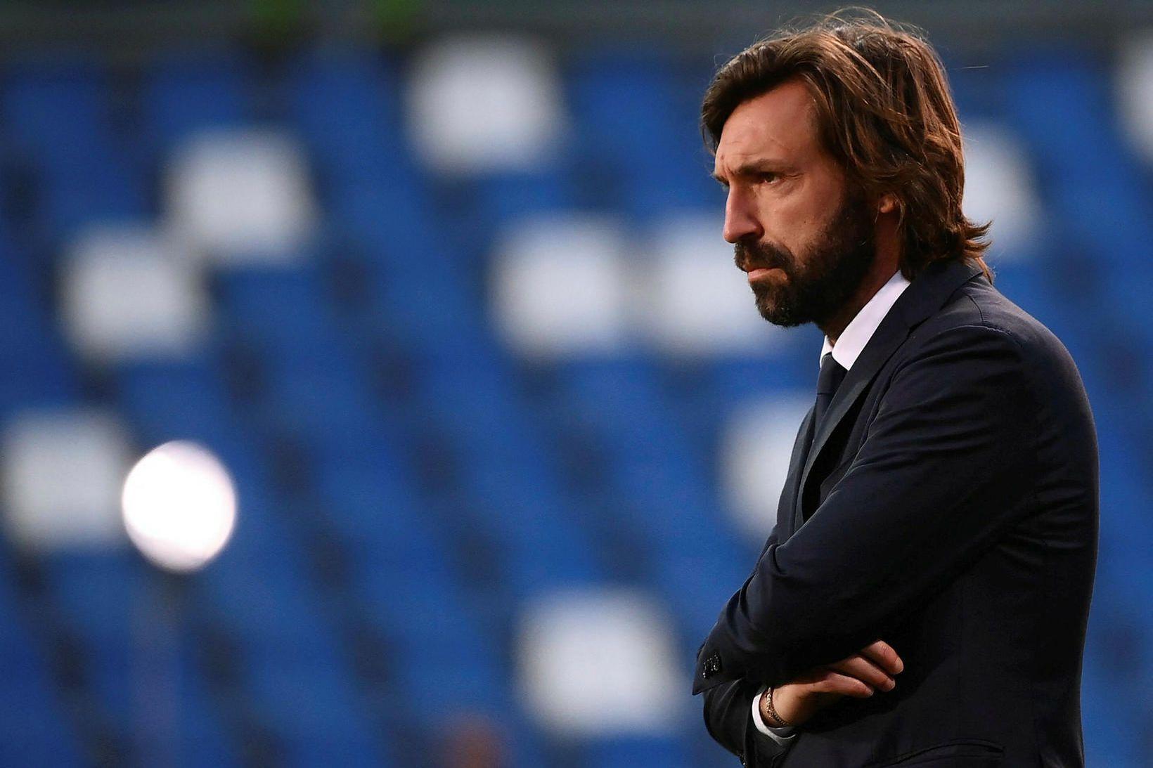 Andrea Pirlo stýrði Juventus á síðustu leiktíð.