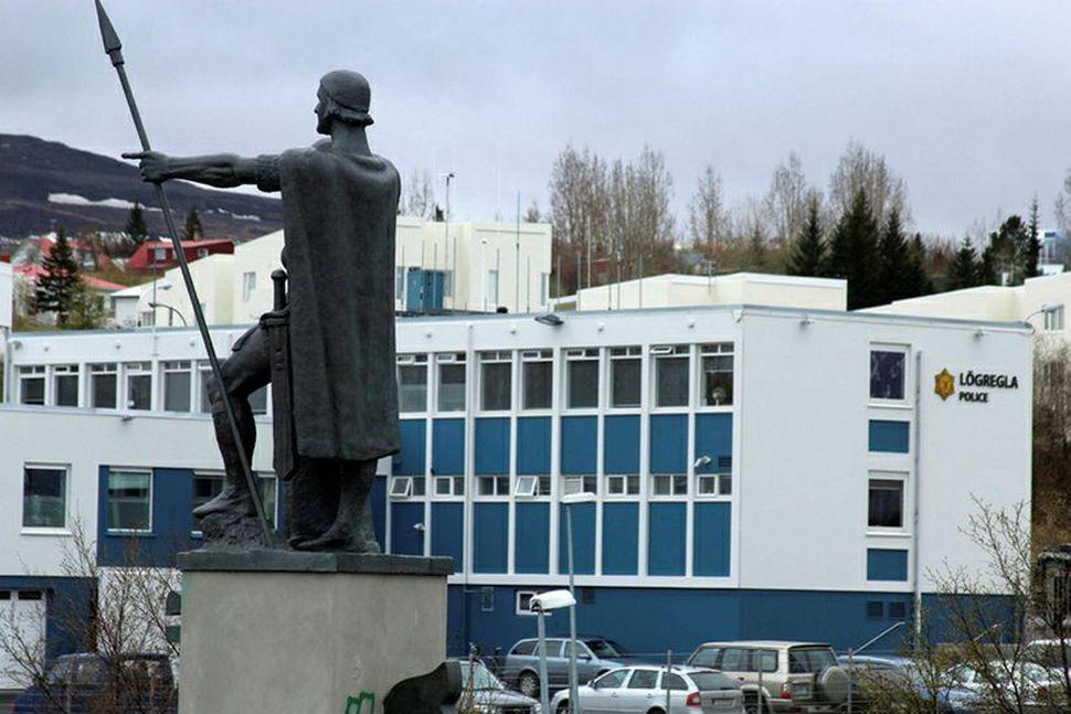 Lögreglustöðin á Akureyri.