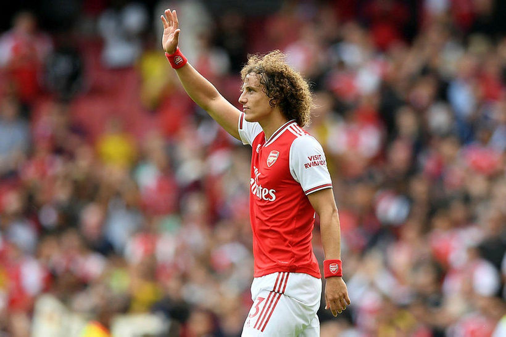 David Luiz í leiknum gegn Burnley.